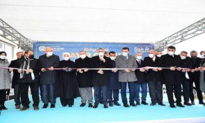Malatya'da Vahap Küçük Hayır Çarşısı törenle açıldı