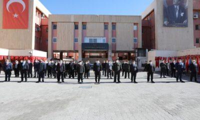 Atatürk'ün Mardin'e gelişinin 105'nci yılı için tören