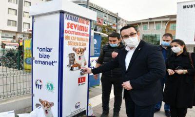 Bursa'da mamamatik istasyonları oluşturuluyor