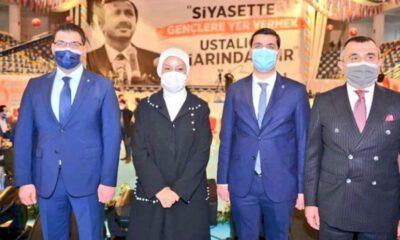 Malatya'da AK gençler Özhüsrev'e emanet