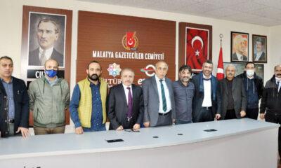 Malatya Gazeteciler Cemiyeti yönetimi görev dağılımı yaptı