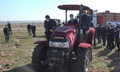 Cumhurbaşkanı'nın örnek gösterdiği ilçede çiftçiye büyük destek