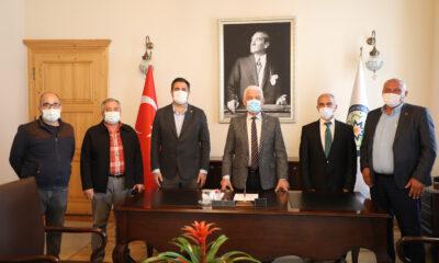 Muğla Ortaca Muhtarları'ndan Başkan Gürün'e Ziyaret