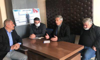 Sivas Kangal'da CHP'liler çiftçileri dinledi