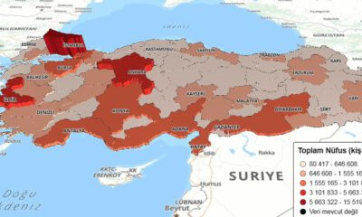 Türkiye nüfusu açıklandı.. İşte illerin yeni nüfusları…