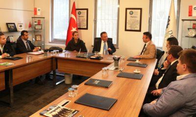 Bursa Vergi Dairesi Başkanı Nuri Karakaş DOSABSİAD'ı ziyaret etti