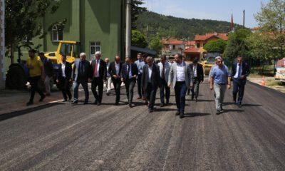 Dağ yöresinde 2018 asfalt sezonuna start verildi