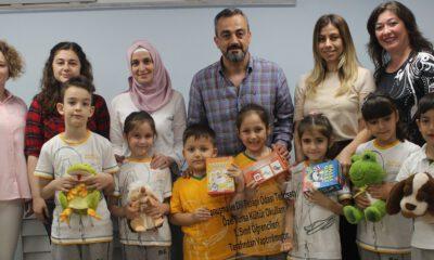 'Özel Bursa Kültür'lü miniklerden anlamlı yardım