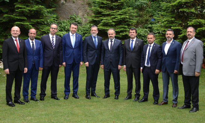 Başkan Aktaş'tan BTSO'ya 'Hayırlı Olsun' ziyareti