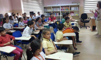Bursa Büyükşehir'den öğrencilere 'çevre' dersi