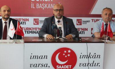 Saadet Partisi Genel Başkanı Temel Karamollaoğu, yarın Bursa'da