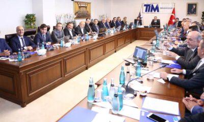 TİM'de ihracatın yönetim kadroları belli oldu