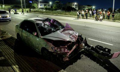 Bursa'da otomobille çarpışan motosikletteki iki genç öldü