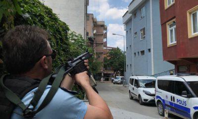 Bursa'da uyuşturucu bağımlısı genç polise ateş açtı