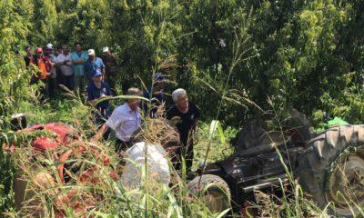Bursa'da traktör devrildi: 1 kişi öldü
