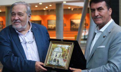 Ortaylı, 'Panorama 1326 Bursa Fetih Müzesi'ni gezdi