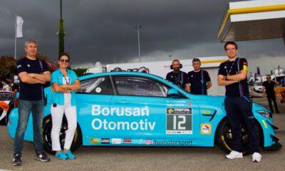 Borusan, Motorsport Belçika Spa-Francorchamps Pisti'nde