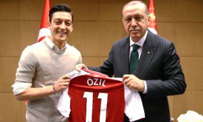 "Mesut Özil'e ""milli"" destek"