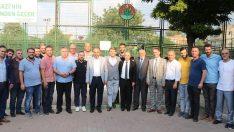 Başkan Alinur Aktaş'tan Gülbahçespor'a iade-i ziyaret