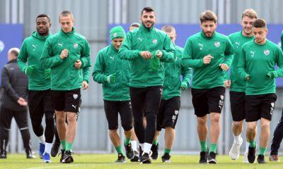 Bursaspor, Kayserispor maçı hazırlıklarına başladı