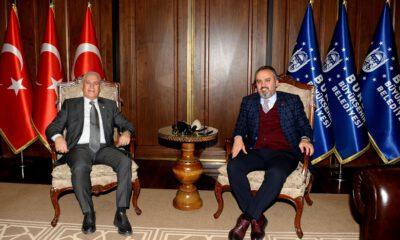 Mustafa Bozbey'den Başkan Aktaş'a ziyaret