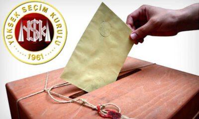 Yüksek Seçim Kurulu, seçmen sayısını açıkladı