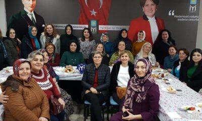Bursa'da kadınlar, İYİ'ler harekatında buluştu