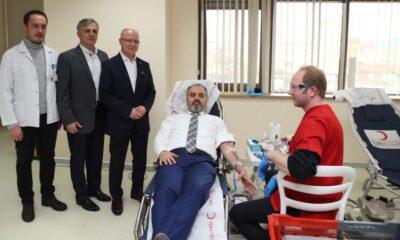 Bursa Büyükşehir'den Kızılay'a anlamlı destek