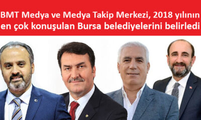 Bursa belediyelerinin 2018 medya karnesi açıklandı