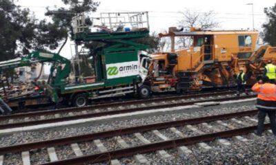 İstanbul'da tren kazası: Yaralılar var