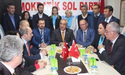 DSP lideri Aksakal Bursa'da konuştu: Kapımız demokrasiye inanan herkese açık!