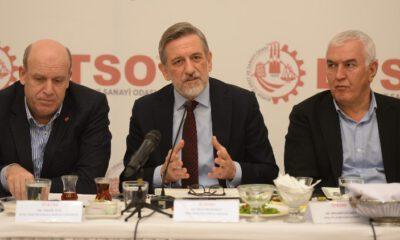 BTSO, bakanlıklara bağlı il müdürlüklerinin temsilcileriyle 'istişare toplantısı'nda buluştu