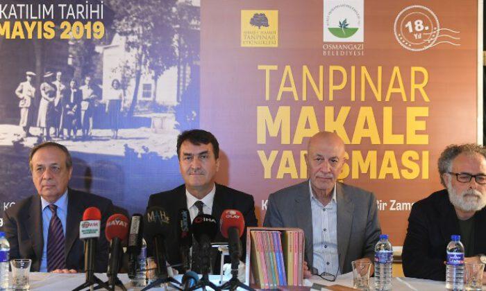 'Ahmet Hamdi Tanpınar Edebiyat Yarışması' başladı