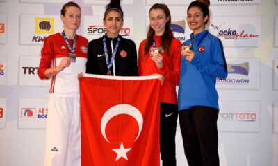 Bursa Büyükşehir tekvandocusu Hatice Kübra İlgün, Dünya Şampiyonu…