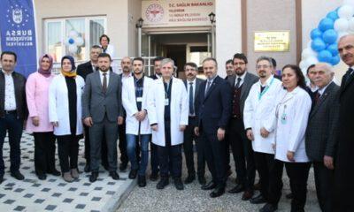 Yıldırım'da modern sağlık merkezi hizmete başladı