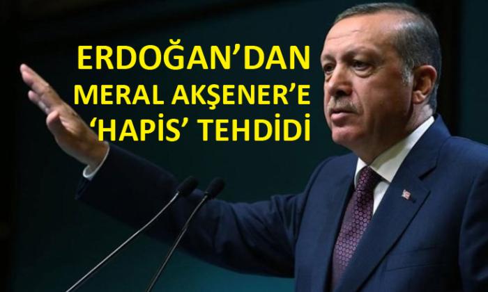Cumhurbaşkanı Erdoğan, İYİ Parti Genel Başkanı Meral Akşener'i hedef aldı