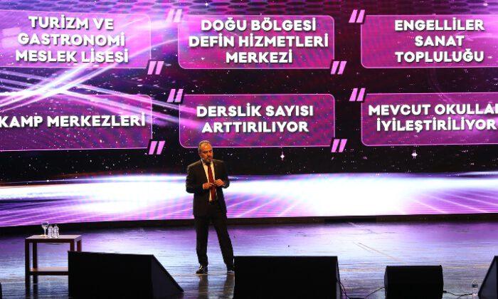 Bursa Büyükşehir Belediye Başkanı Alinur Aktaş, yeni dönem projelerini açıkladı