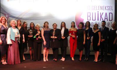 BUİKAD 'iş yaşamında başarılı kadınları' ödüllendirdi