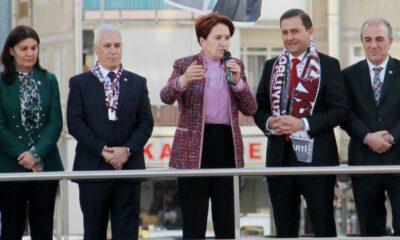 Meral Akşener, seçimi Genel Merkez'de böyle takip etti