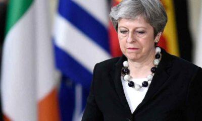 İngiltere Başbakanı May'den istifa mesajı