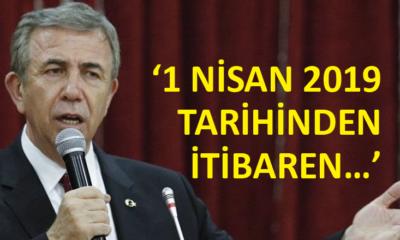 Ankara Büyükşehir Belediye Başkanı Yavaş, sosyal medya hesabından paylaştı