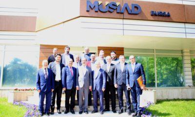 MÜSİAD Bursa Şubesi, ticarette rotayı Ürdün'e çevirdi