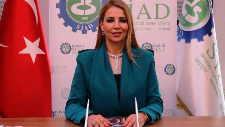DOSABSİAD'da Nilüfer Çevikel yeni başkan…