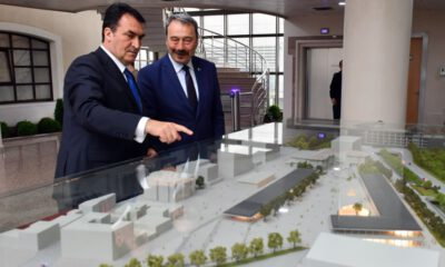 Bursa İl Emniyet Müdürü Ak'tan Dündar'a ziyaret