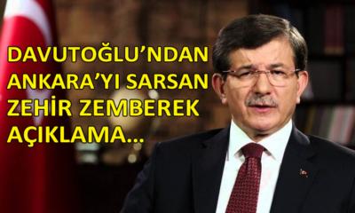Davutoğlu'nun açıklaması Ankara kulislerine bomba gibi düştü