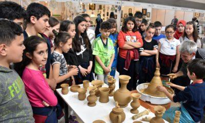 Bursa'da geleneksel el sanatlarına okullardan yoğun ilgi