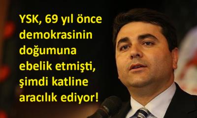 DP Genel Başkanı Uysal, 14 Mayıs'ın yıldönümünde YSK eleştirisi yaptı