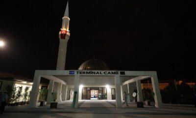 Bursa'da Şehirlerarası Otobüs Terminali'ne modern cami