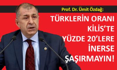 İYİ Partili Özdağ, Türkiye'de bazı bölgelerin Suriyelileştiğini söyledi