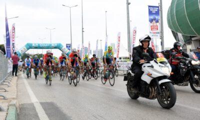 Yıldırım Beyazıt Uluslararası Yol Yarışı Bursa'dan başladı